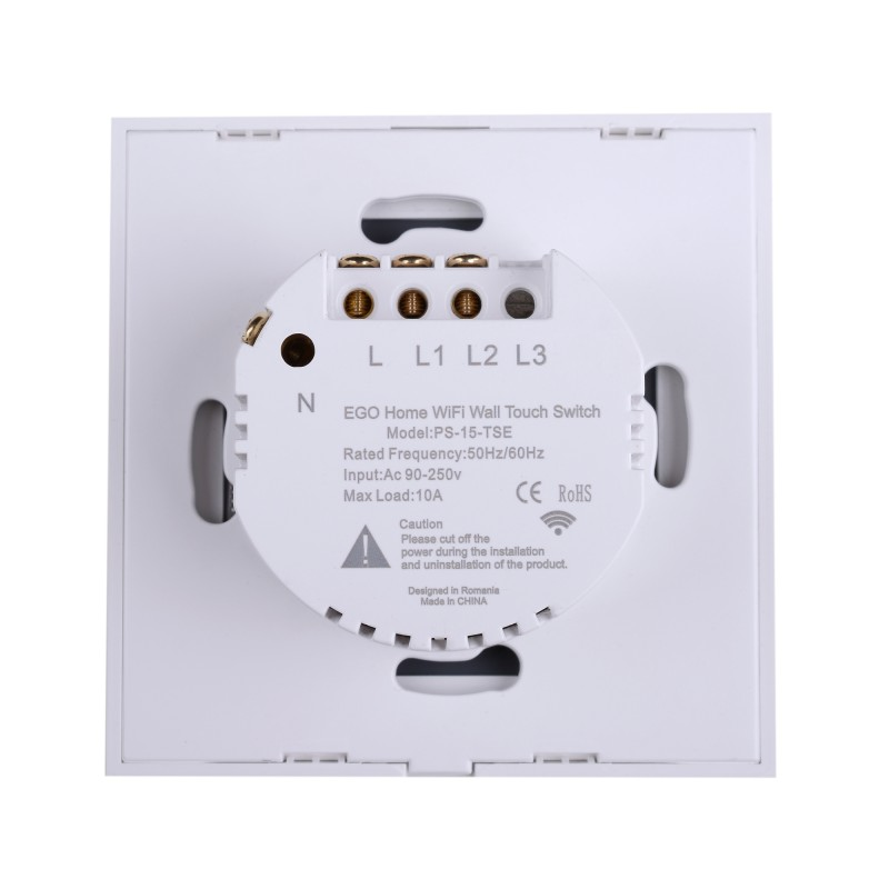 Smart EGO Home switch two buttons