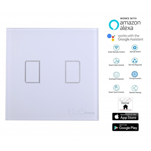Smart EGO Home switch two buttons without null wire