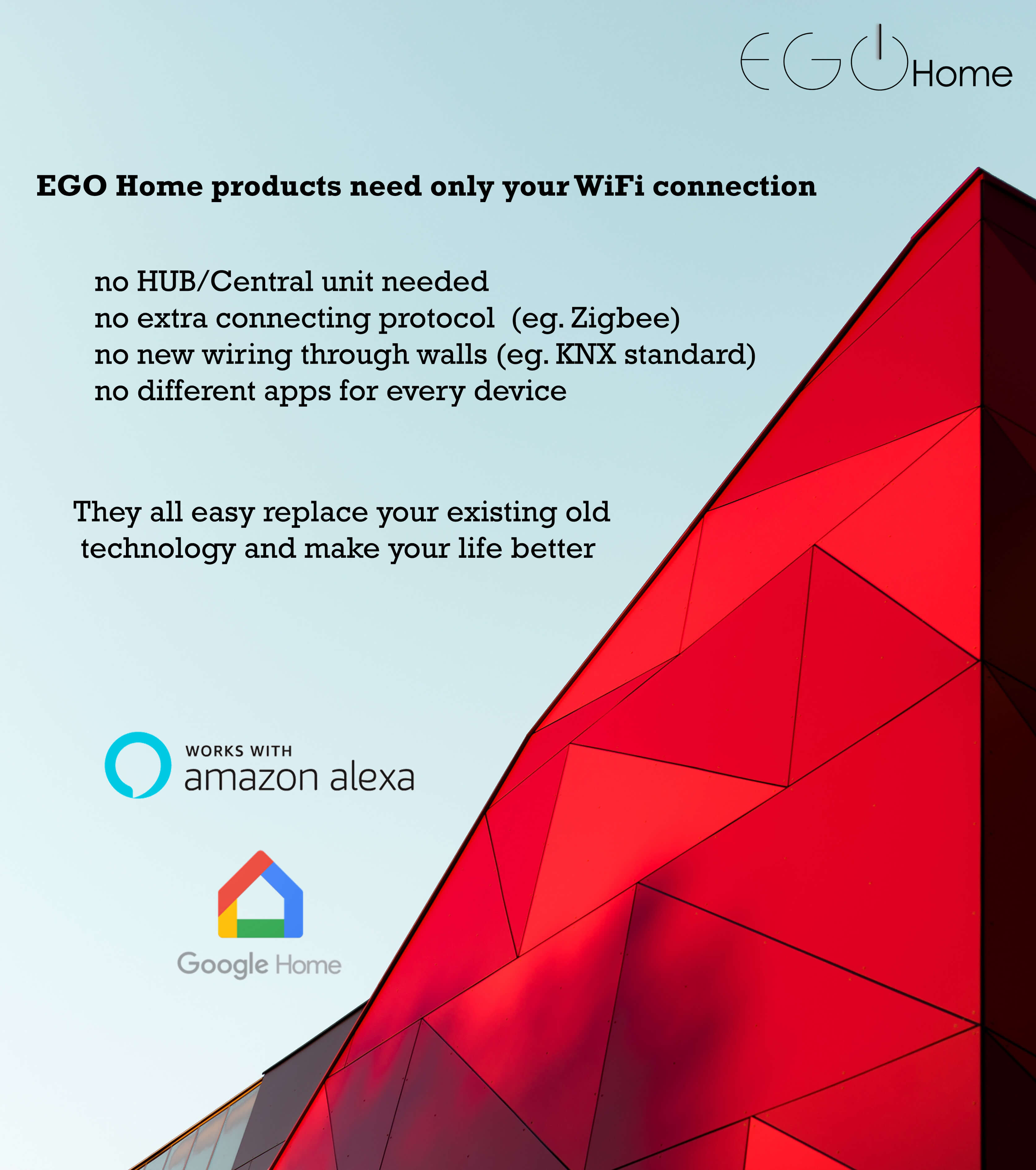 EGO Home products features